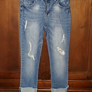 Womens cropped jeans sz 6